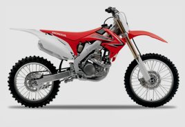 Honda CRF 250 cc and 450 cc